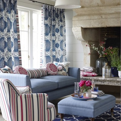 Select your curtains from our luxurious curtain fabrics  from major designers - Interior Mood, County Carlow, Ireland